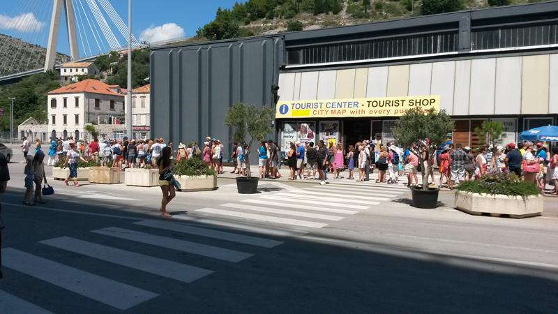 Dubrovnik Port line